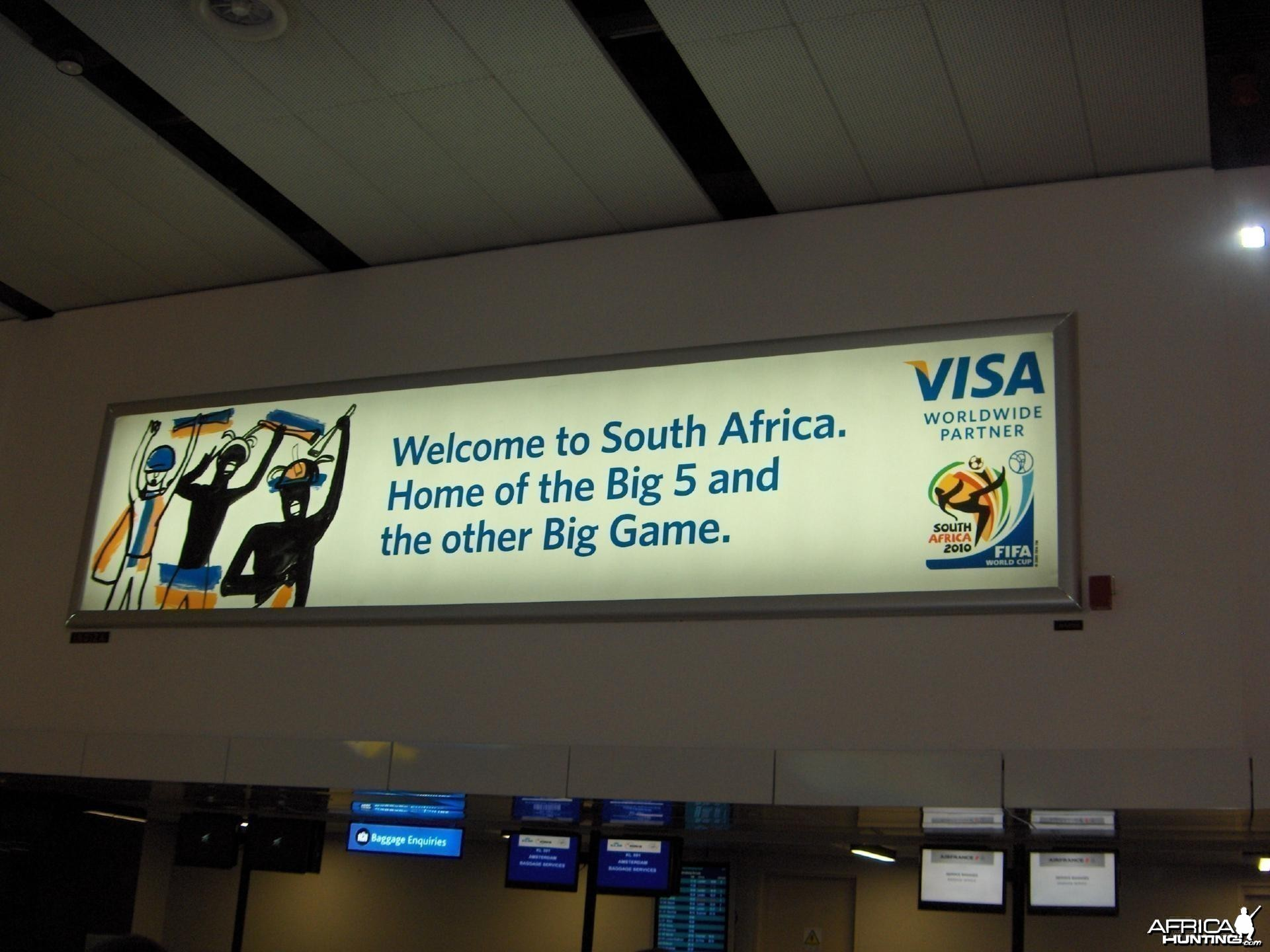 Welcome to South Africa