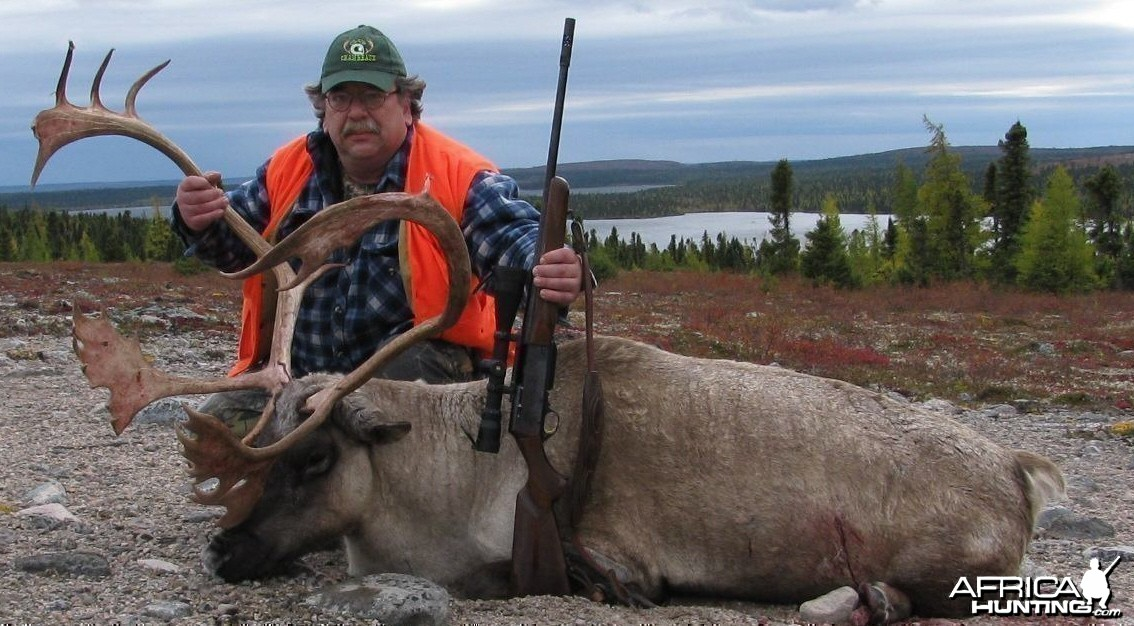 Caribou hunt in Northern Quebec, Canada