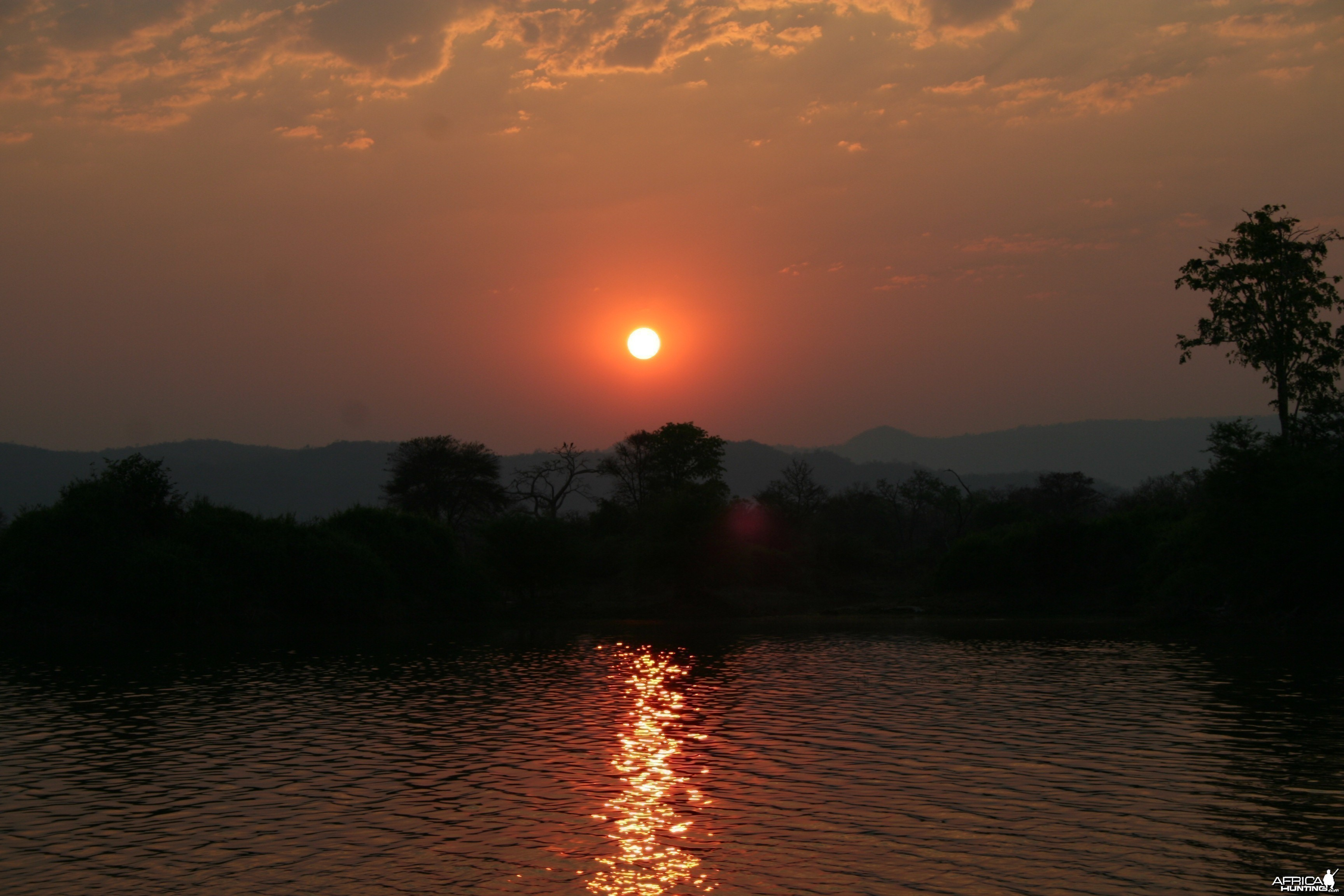 Sunrise over Kariba, Zimbabwe, 2009