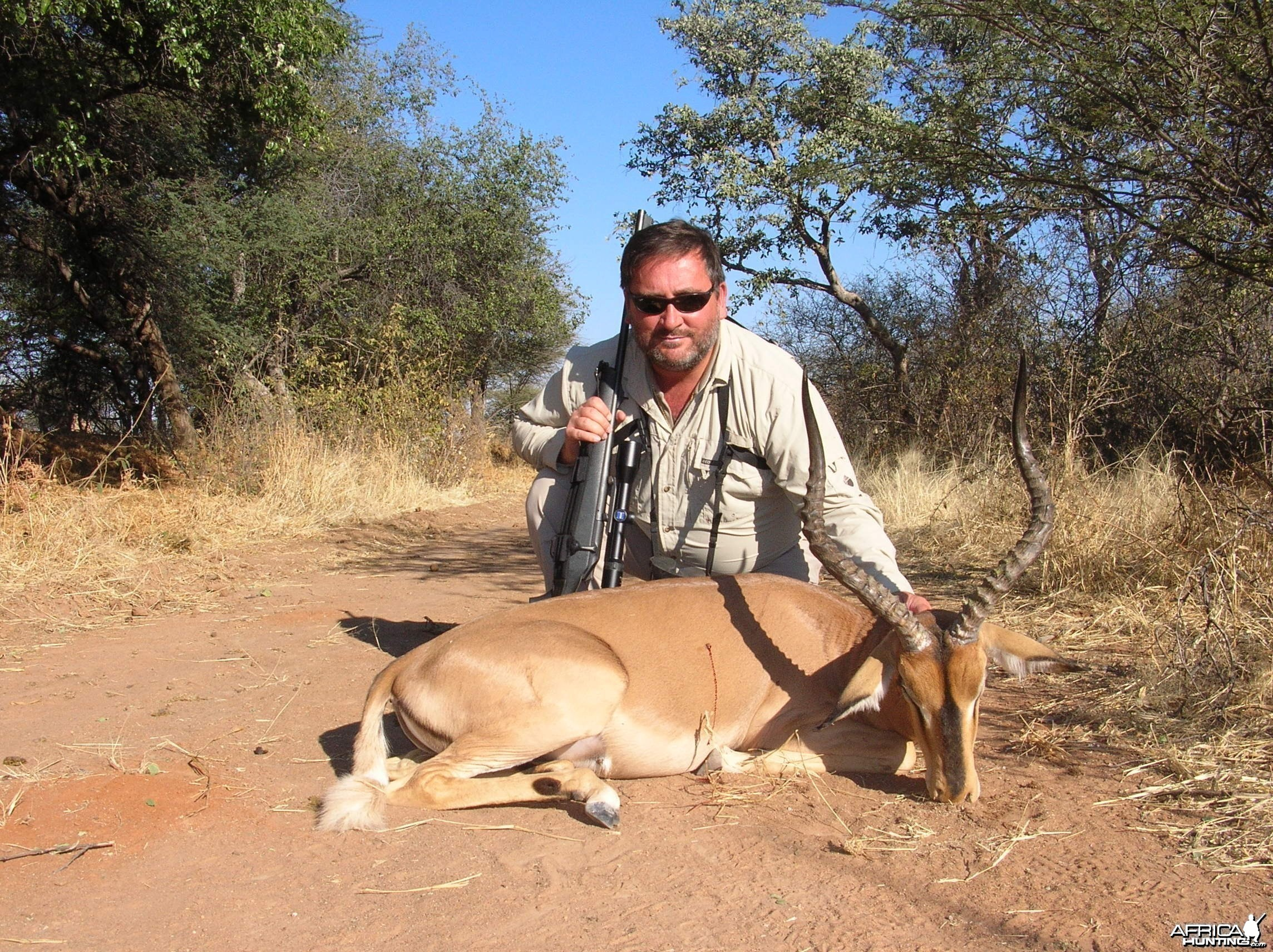 Hunting Imapla in Namibia