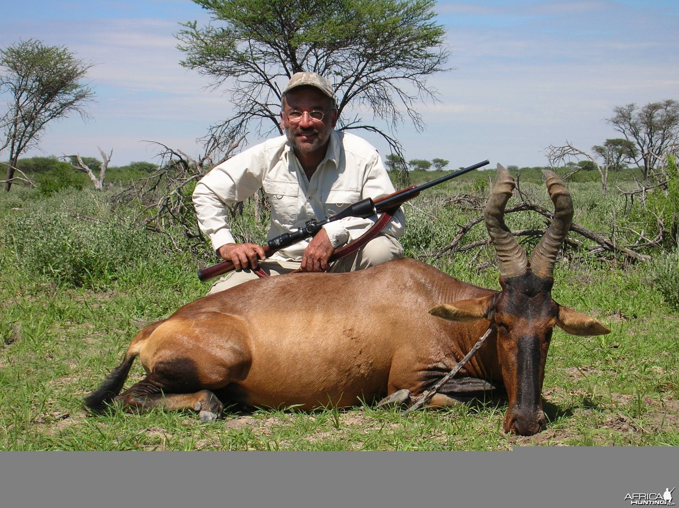 Hunting Hartebeest in Namibia