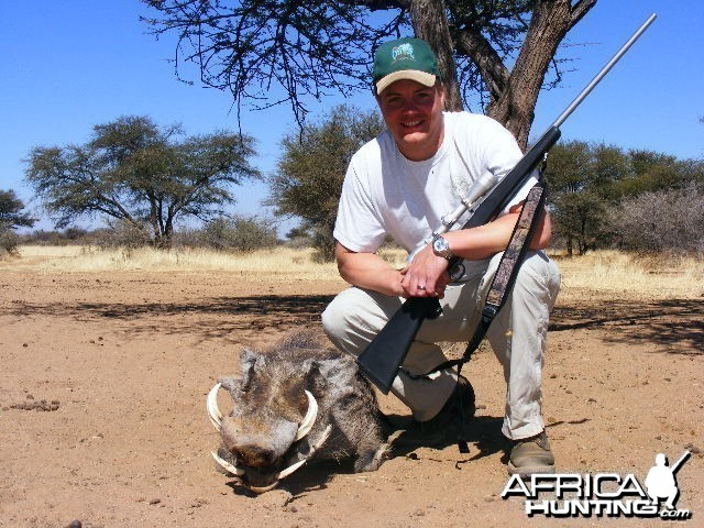 Pig Hunting in Namibia