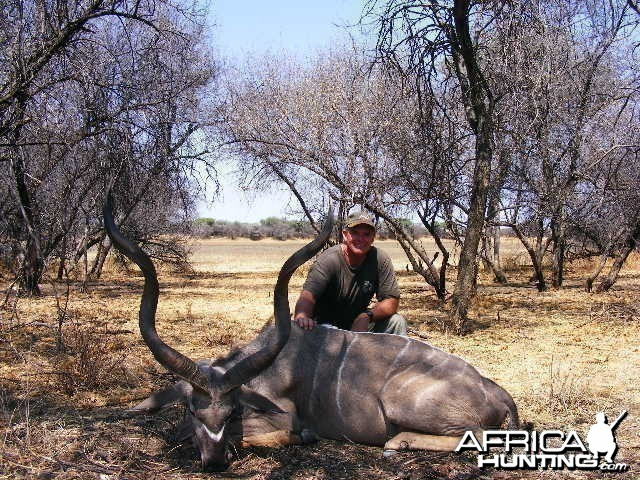 Hunting Kudu in Namibia