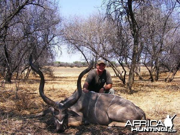 Hunting Kudu in Namibia