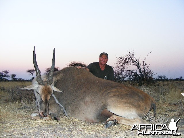 Hunting Eland in Namibia