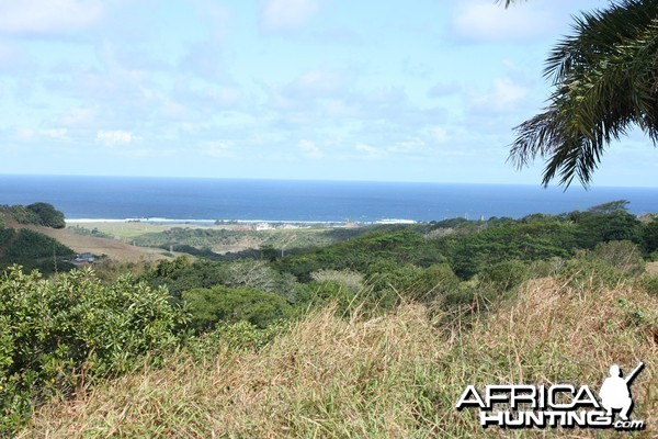 Hunting grounds overlook in Mauritius