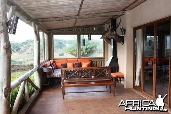 Hunting lodge in Mauritius of Le Chasseur Mauricien