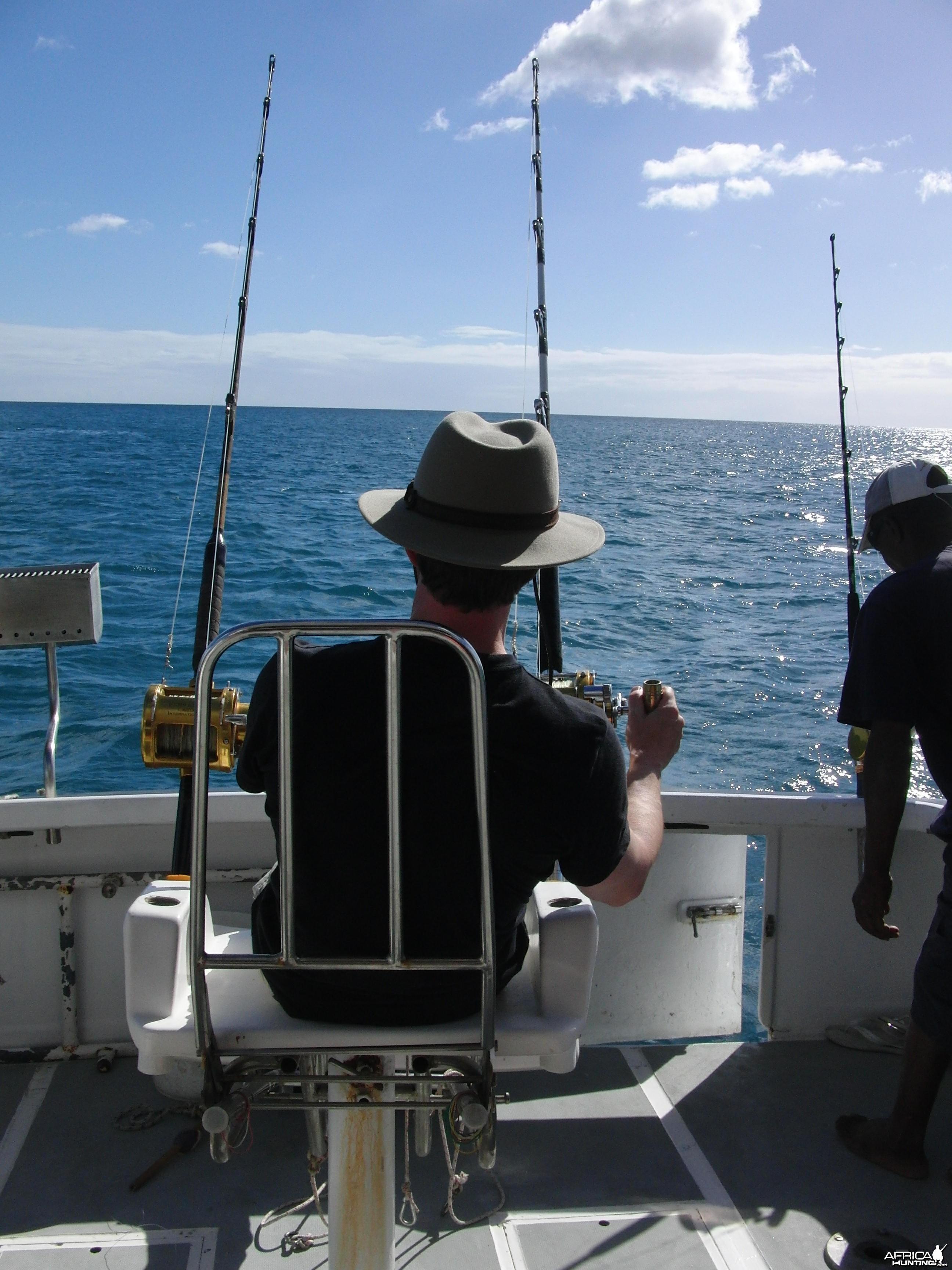 Boat trip in Mauritius