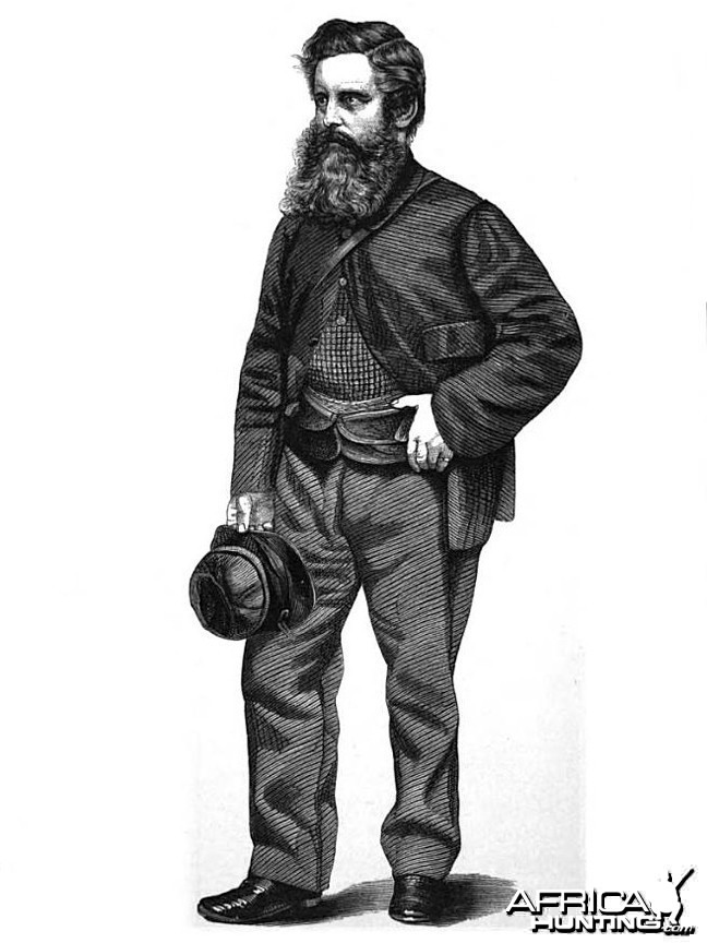 William Charles Baldwin (1826-1903), Big Game Hunter