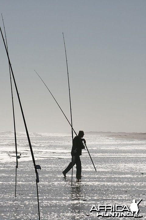 Fishing from the coast