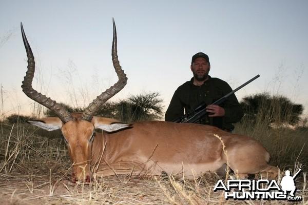 Impala hunt in Namibia
