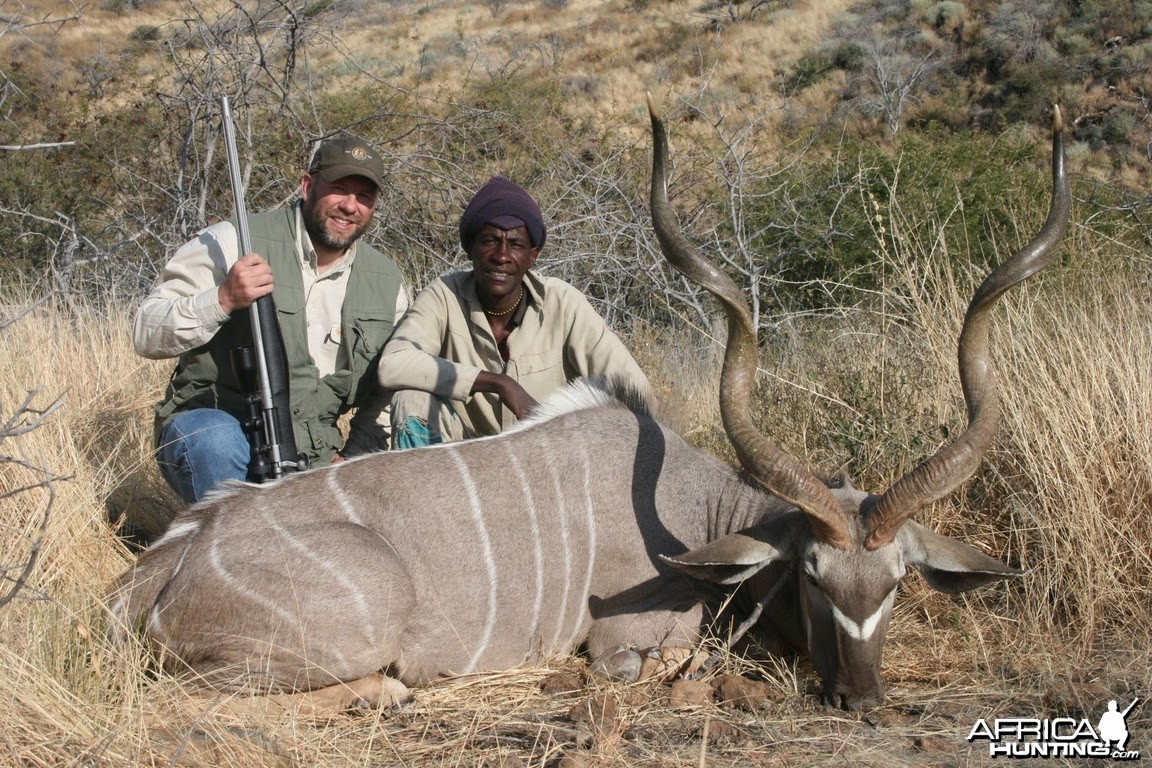 Kudu hunt in Namibia