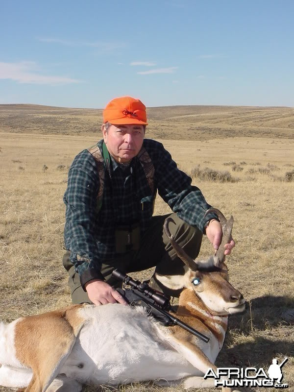 "Pronghorn with TC contenders using 14"" barrel 7x30 waters car"