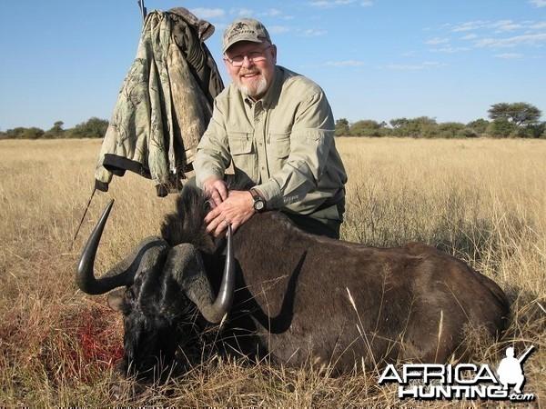 Black Wildebeest Namibia June 2006