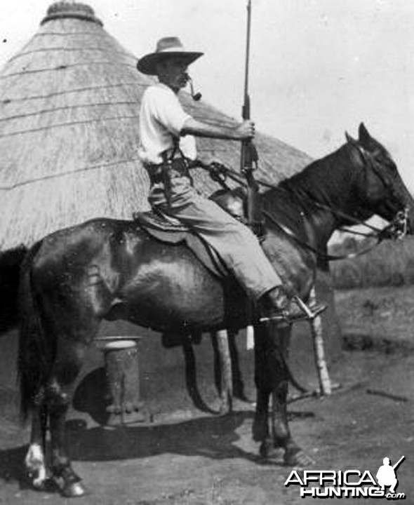 Harry Wolhuter (1877-1964), Hunter & Ranger