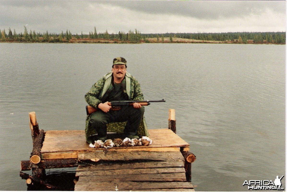Faterfowl hunting in Canada