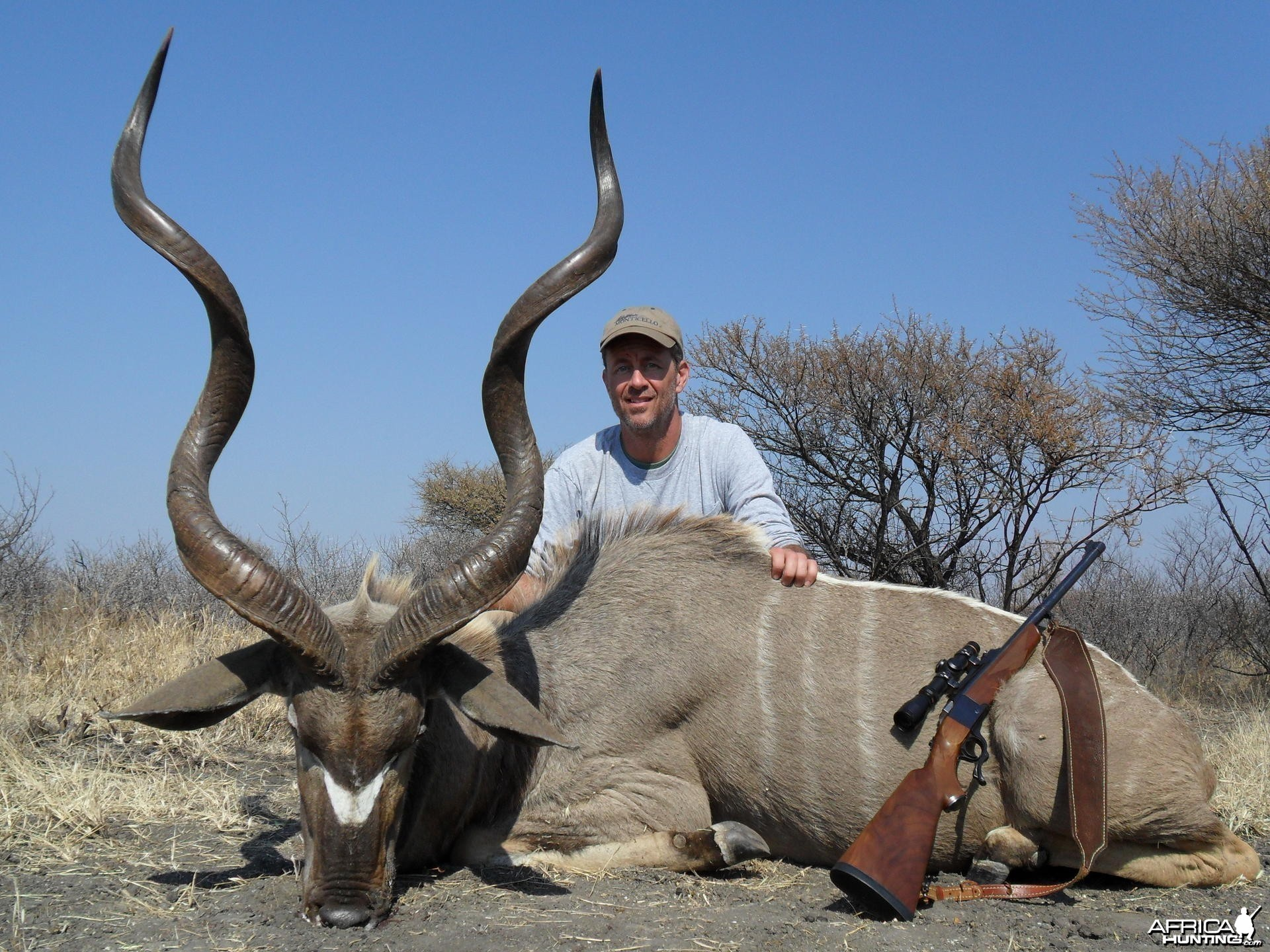 Kudu hunt in South Africa
