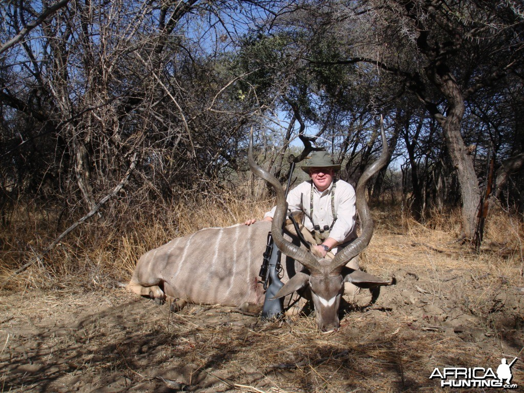 Greater Kudu hunted in Namibia