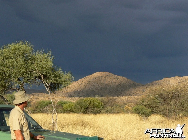 Summer Storm Namibia