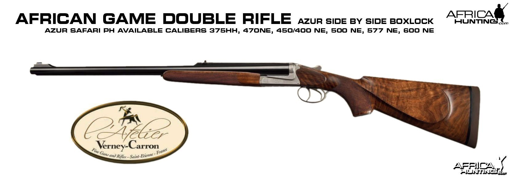 Azur Safari PH Double Rifle by Verney-Carron
