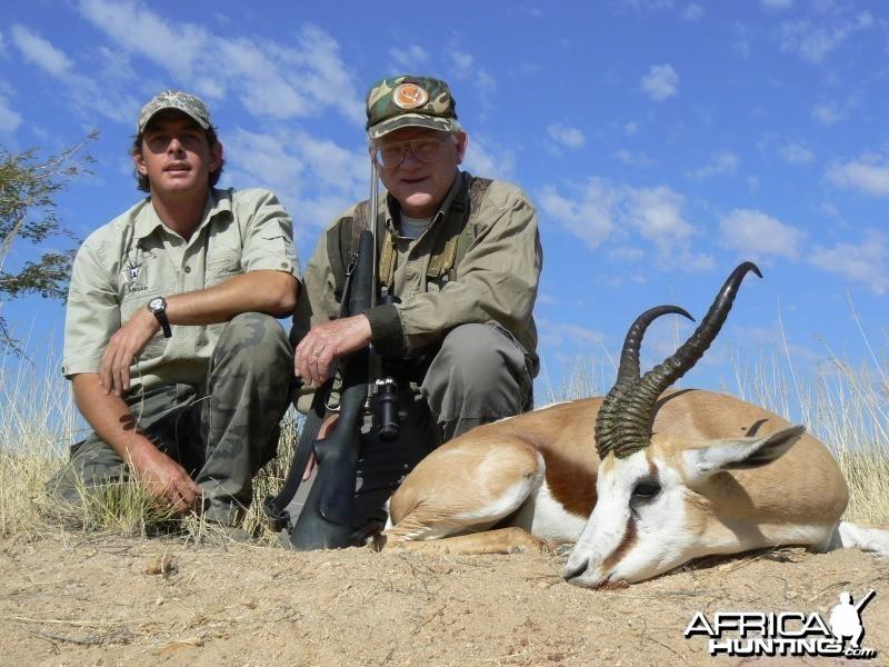 Hunting Springbok Namibia