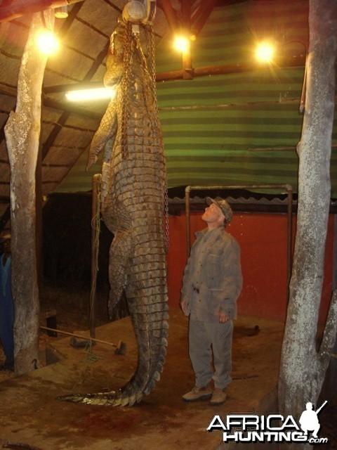 14' Croc July 2009