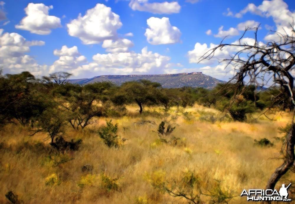 Mt. Etjo Plateau in Namibia