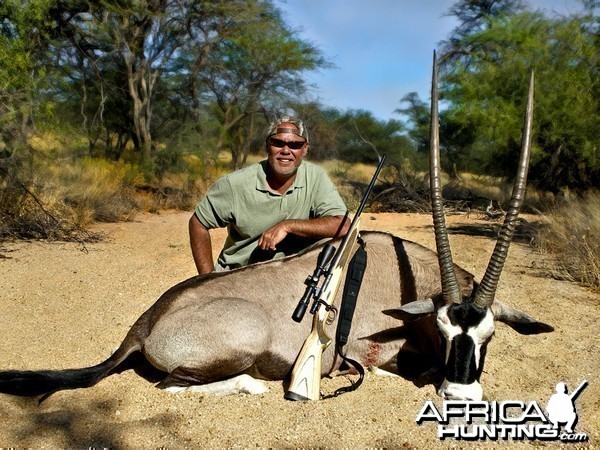 40 inch Oryx taken in namibia