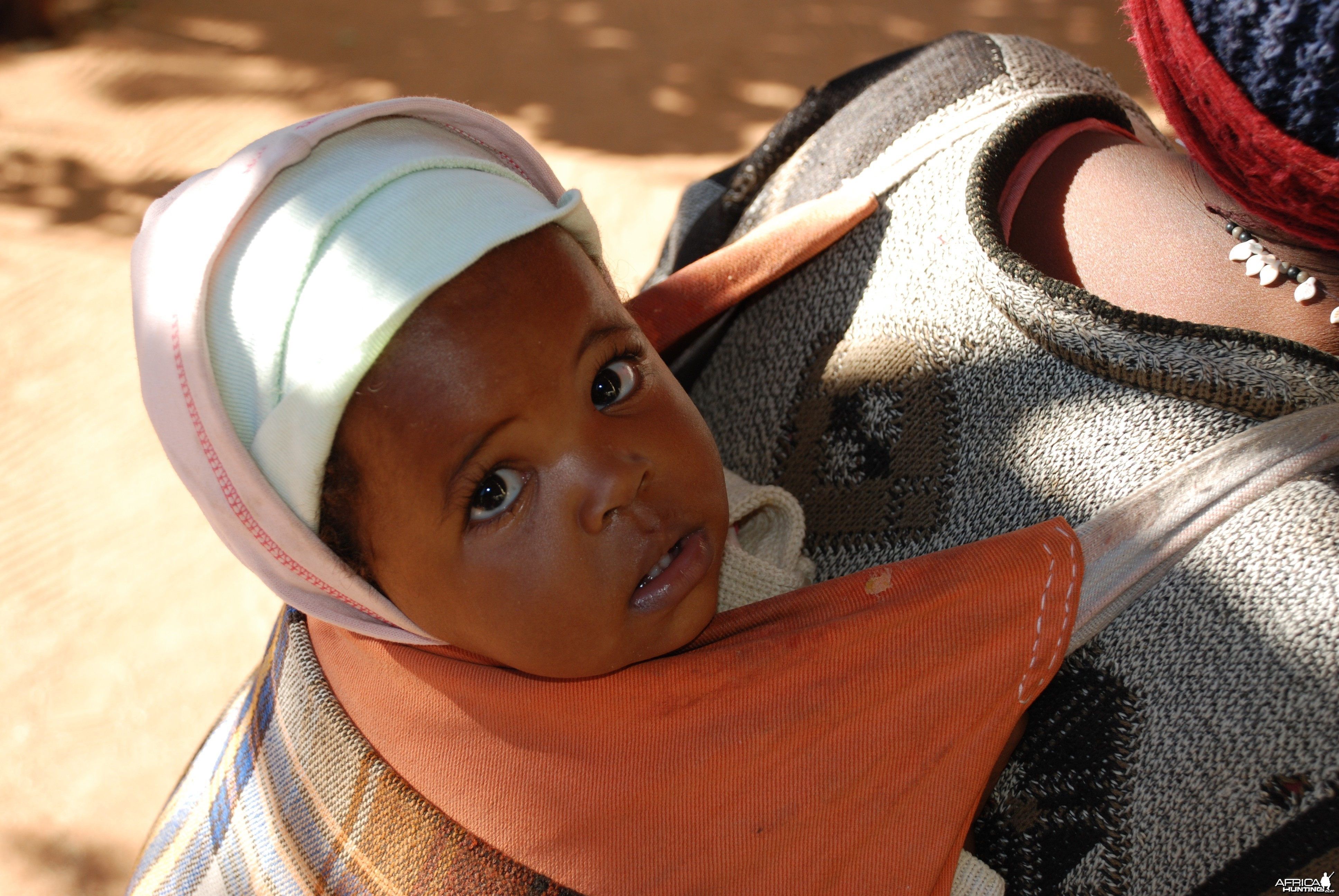 Infant in Namibia