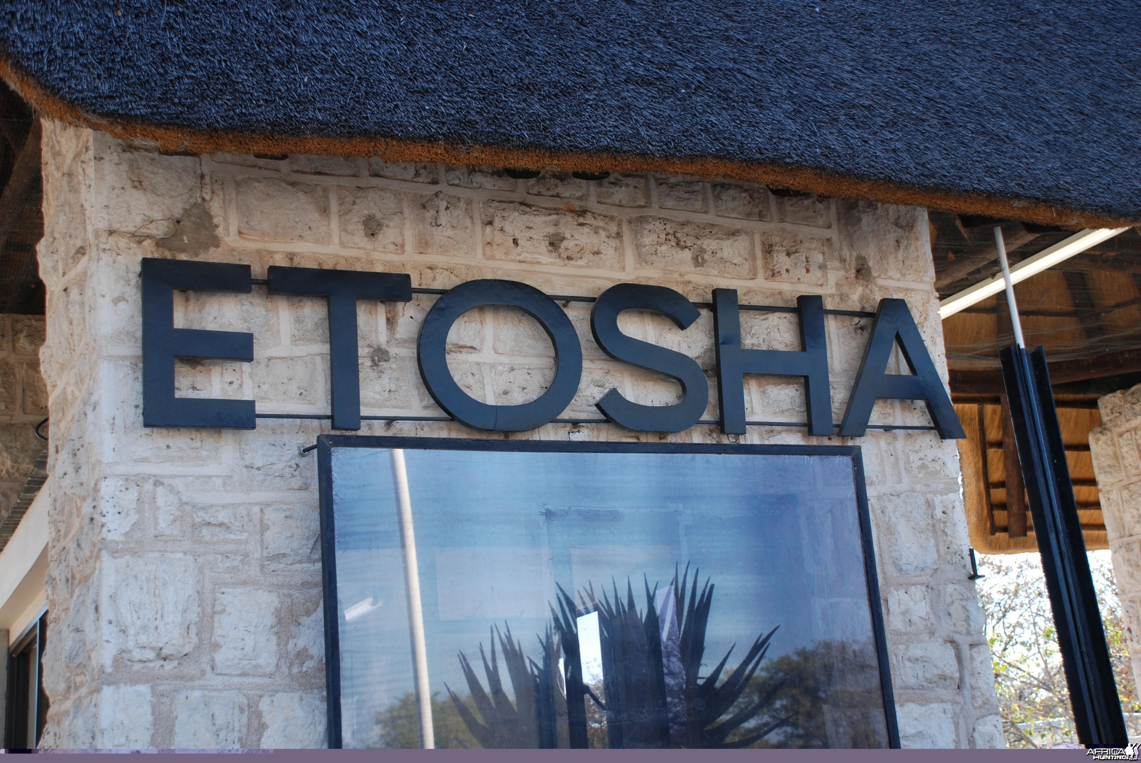Etosha entrance Namibia