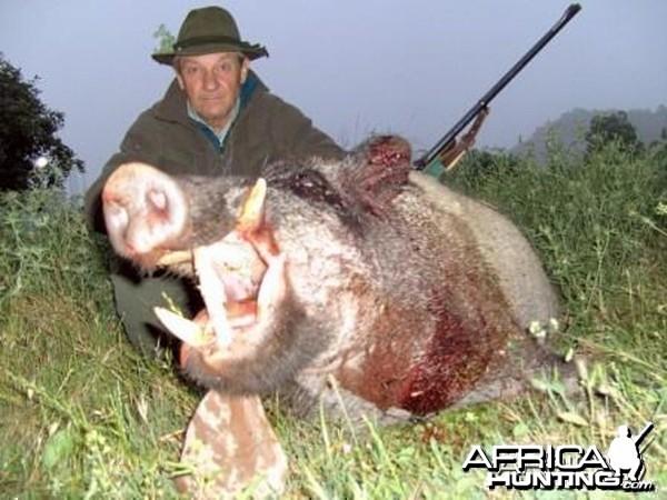 Wild Boar Hunt in Tadjikistan