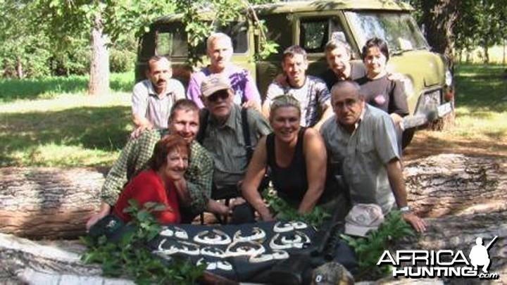 Hunting Wild Boar in Tadjikistan
