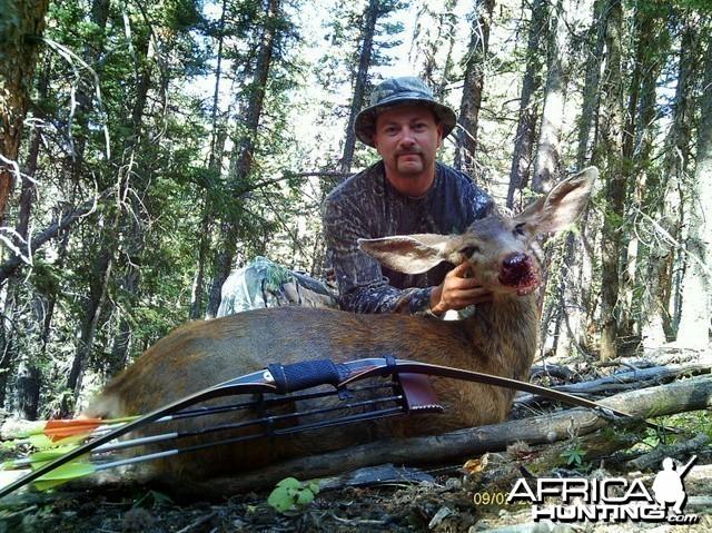 Mule Deer Bowhunt