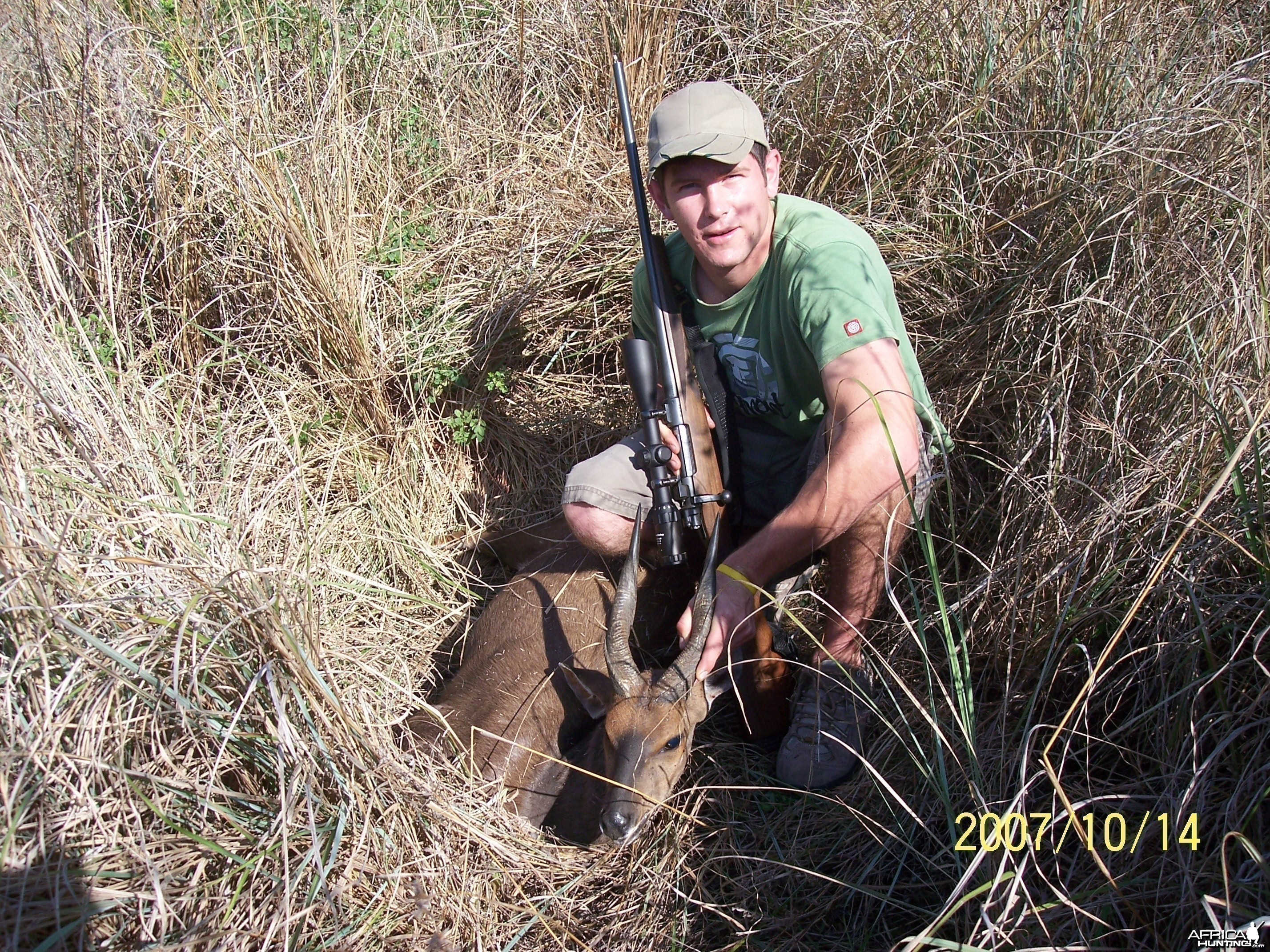 Cape Bushbuck hunt
