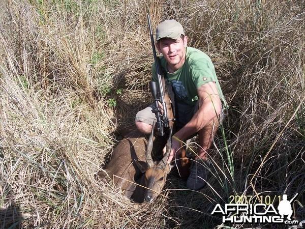 Cape Bushbuck hunt