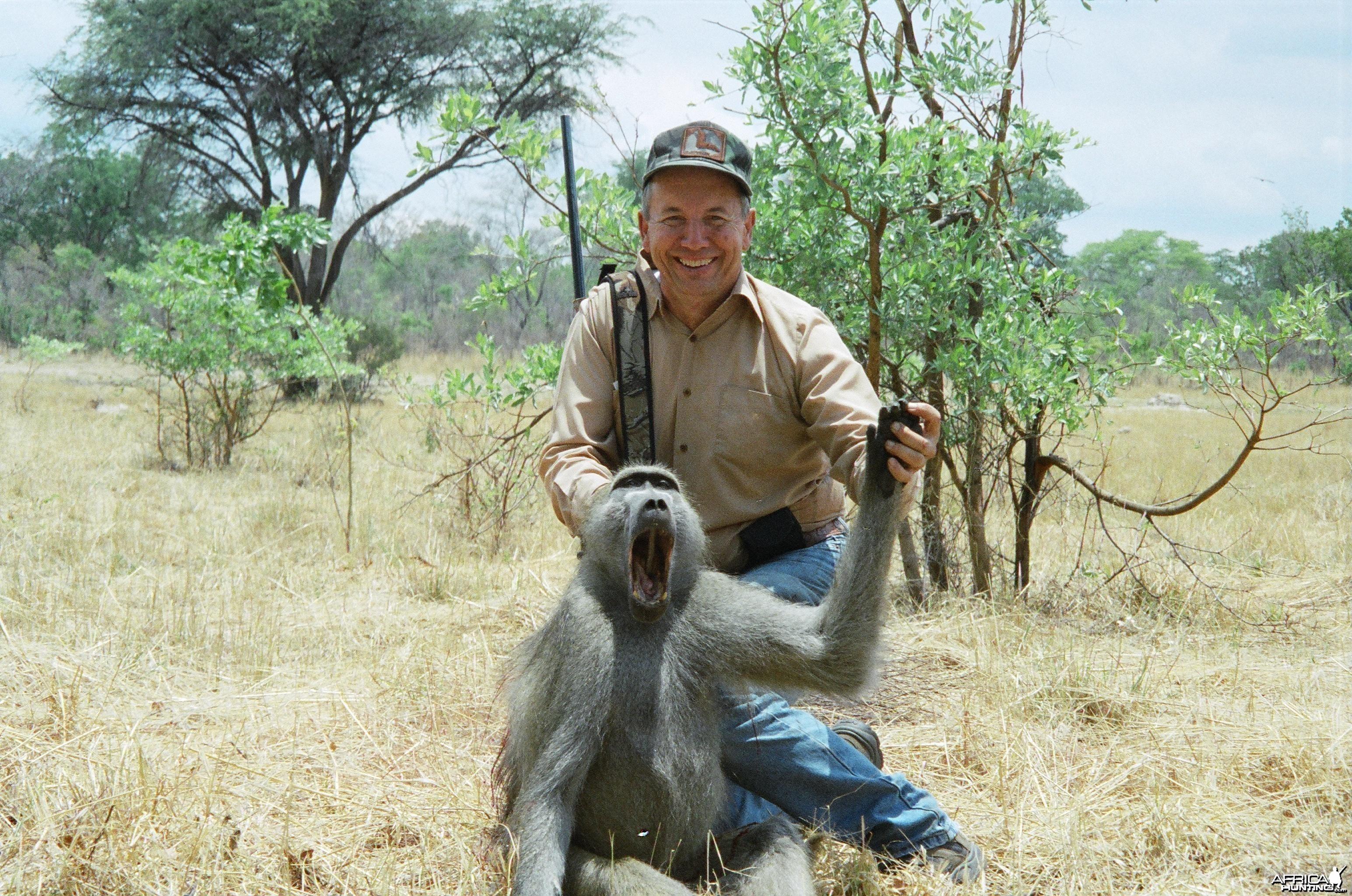Hunting Baboon