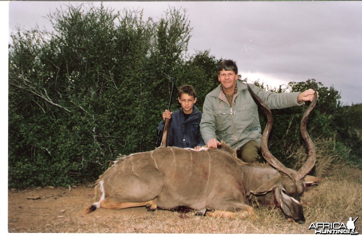 My First Kudu. At the time I was 12 years old!