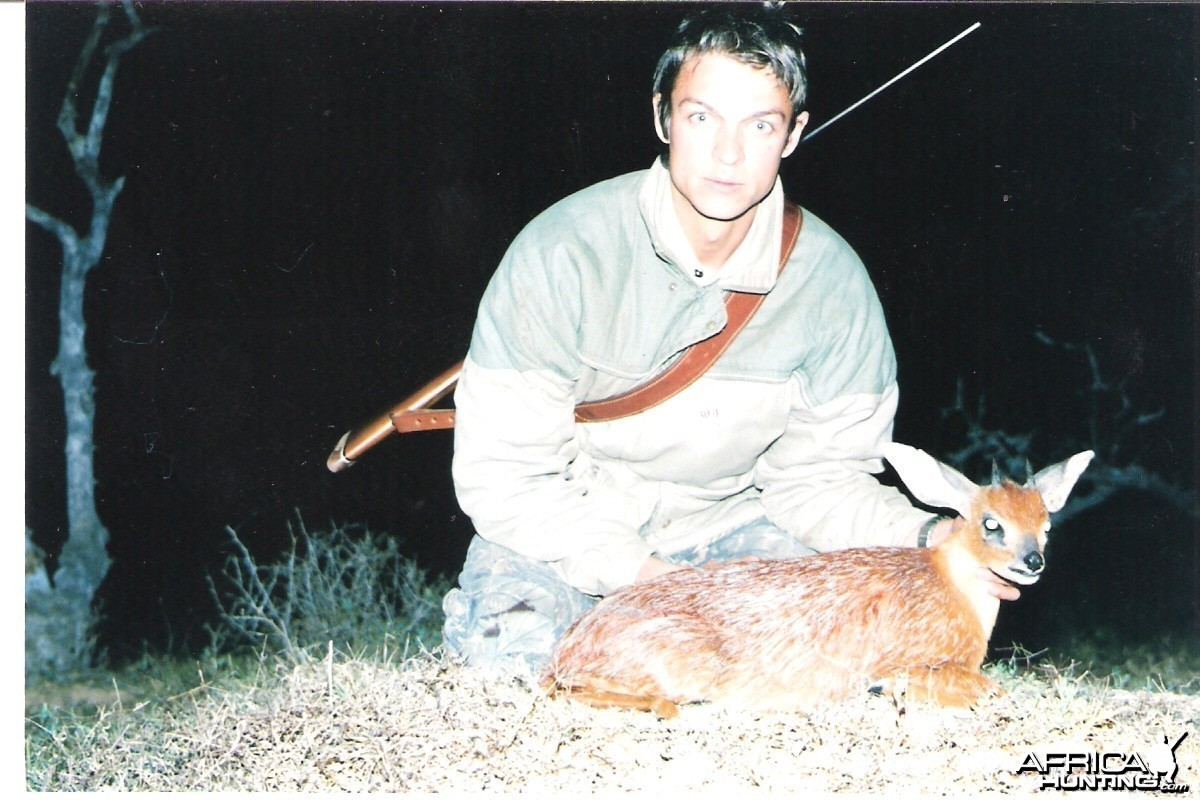 Grysbok hunt Eastern Cape