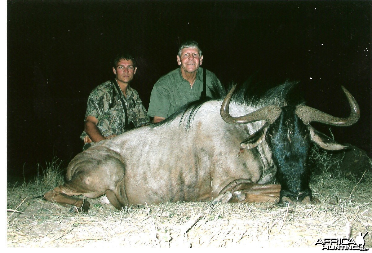My dad's 29.5 Bluewildebeest