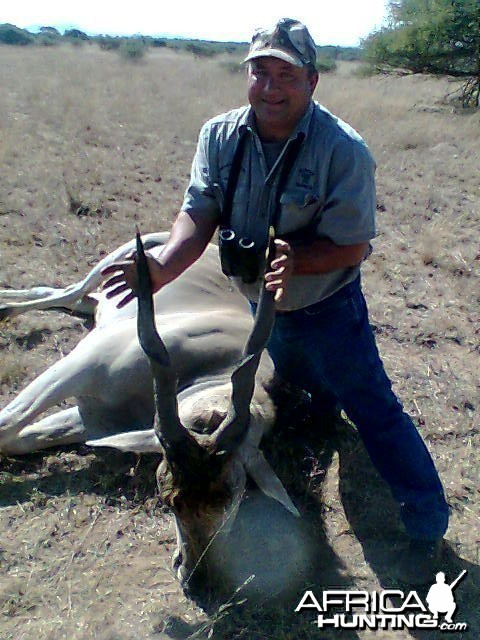 look at this nice eland...