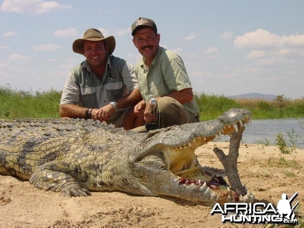 Man Eating Croc