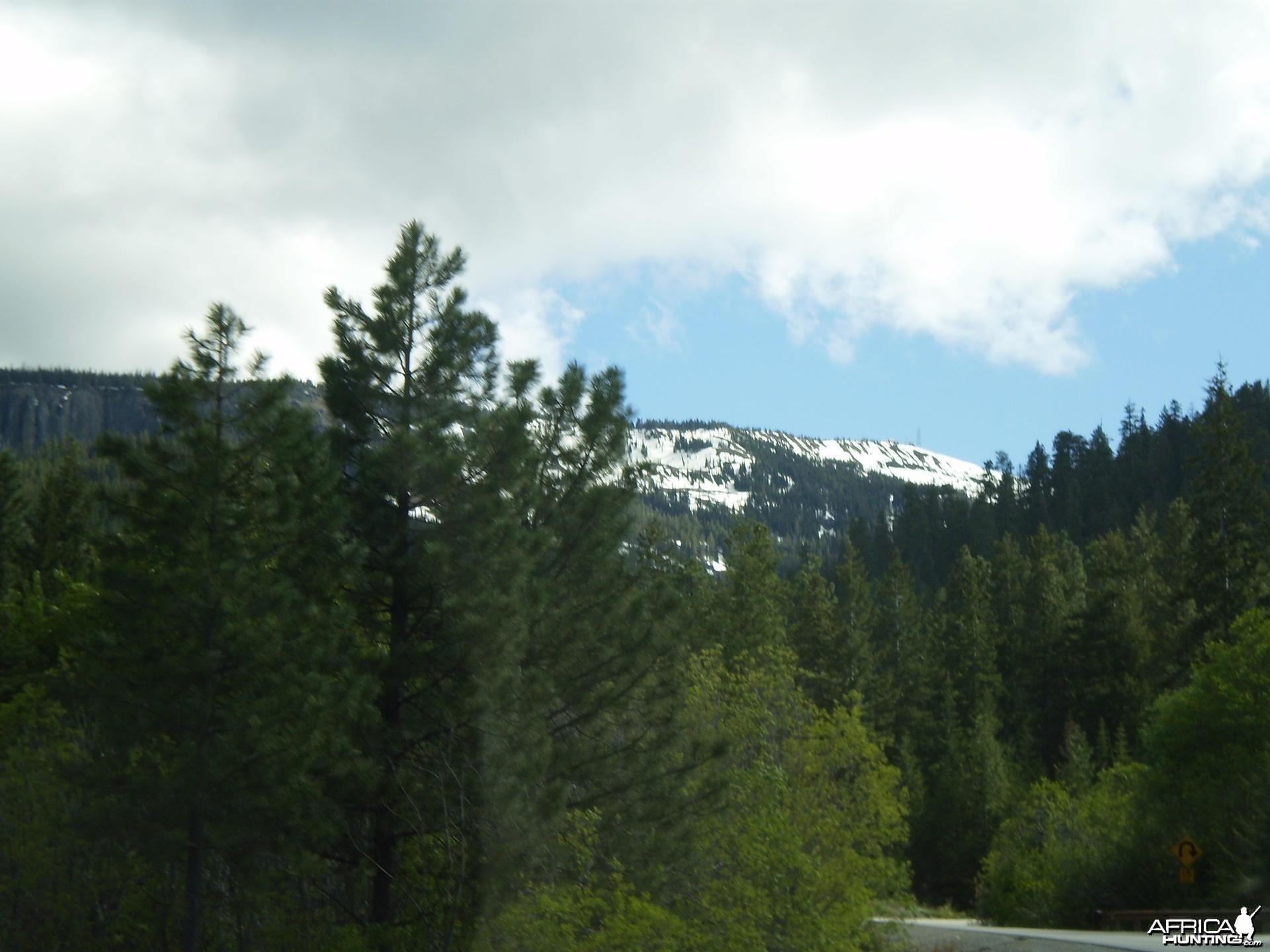 Mountains in Wentachee Washington USA