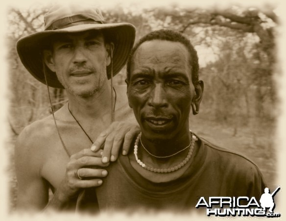 Me and Bawe one of my trackers in Tanzania