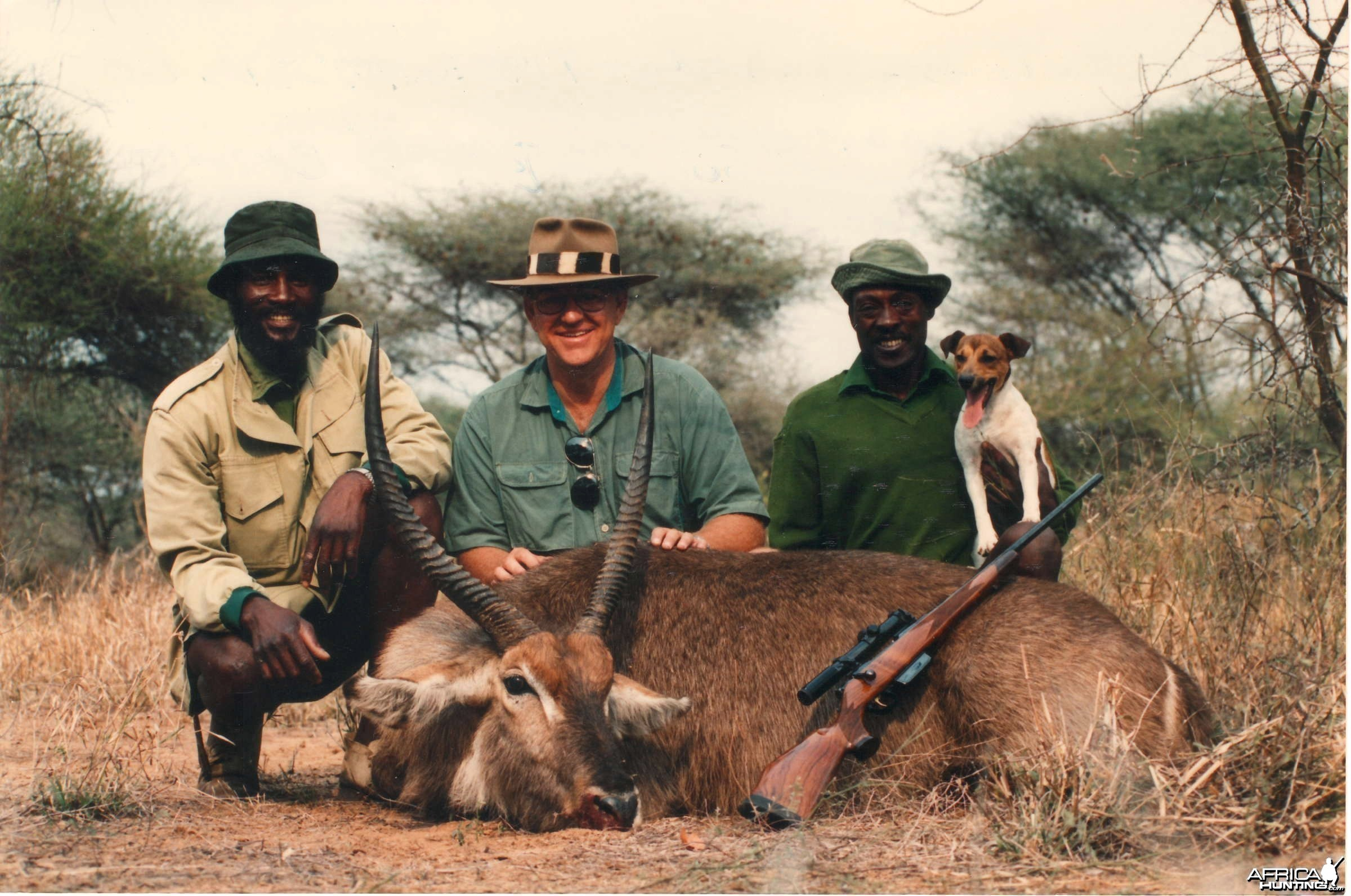 Waterbuck hunt Zimbabwe