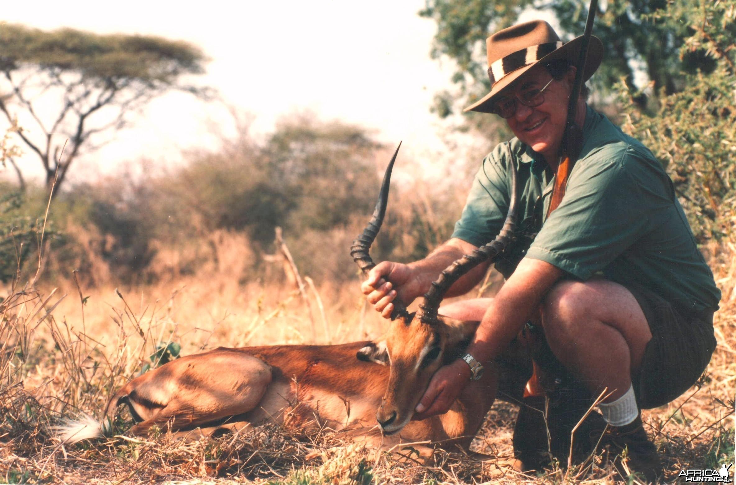 Impala hunt Zimbabwe