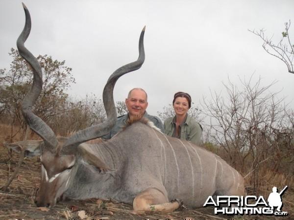 """My first Kudu, a little under 55"""""""