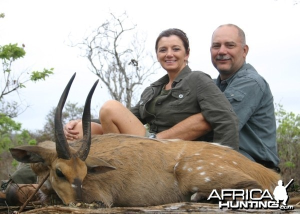 My first bushbuck and a very nice one