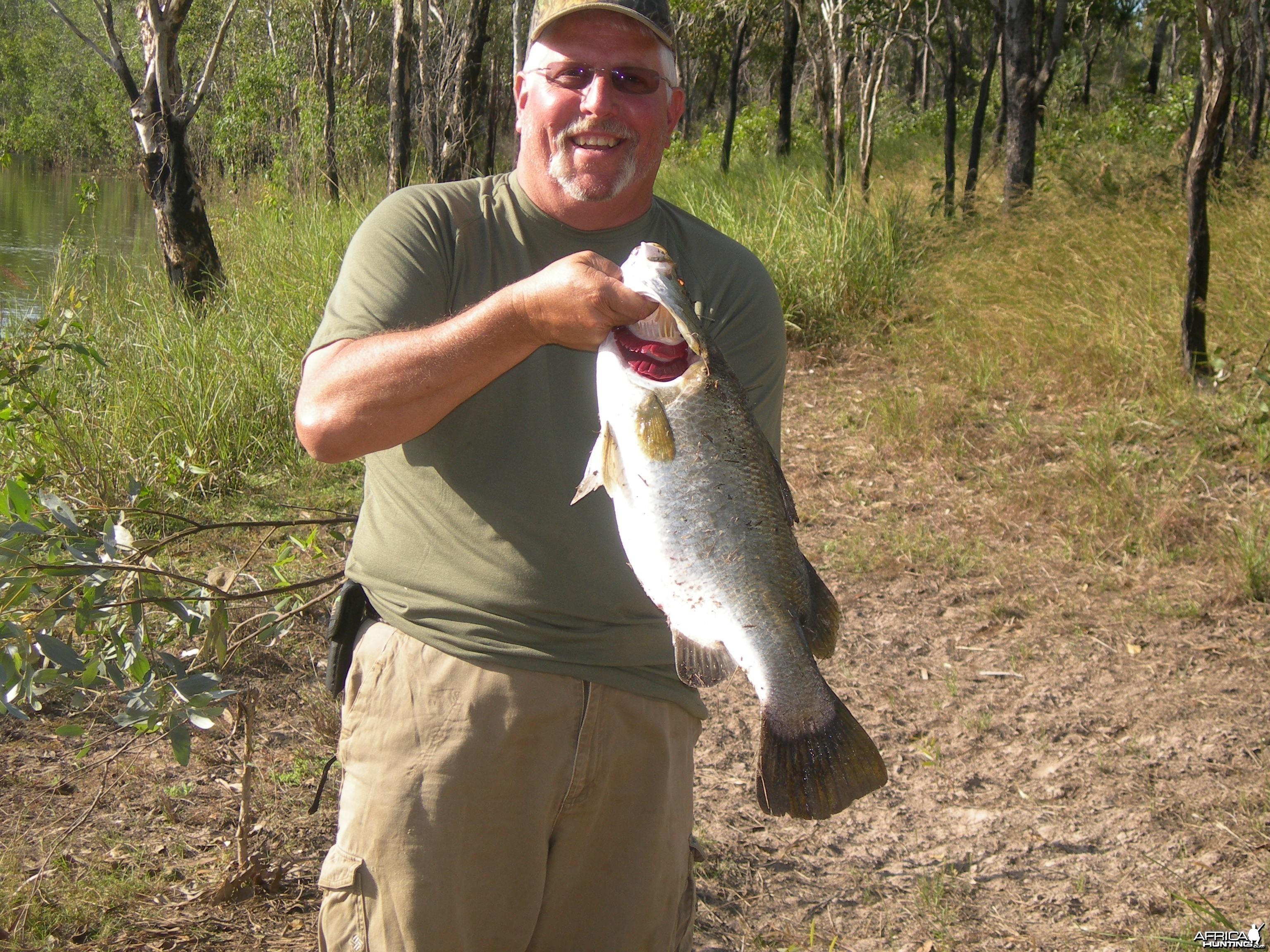 Fishing, Arnhemland, Australia