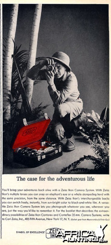 Zeiss African Hunter Ad, 1962