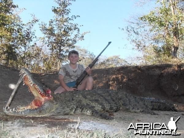 Hunting Croc Zimbabwe
